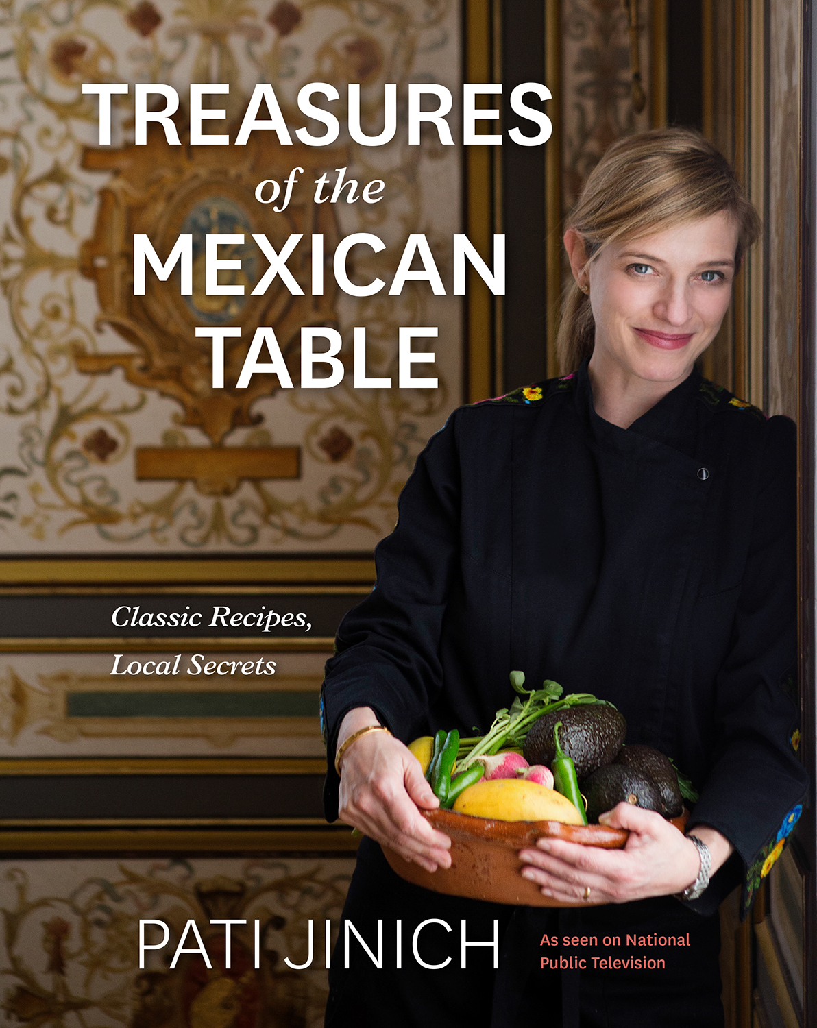 Treasures of the Mexican Table cover