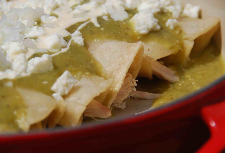 Enchiladas Verdes main