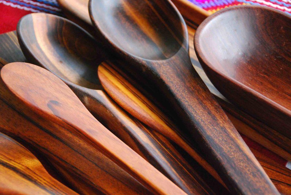 Cucharas de madera 1
