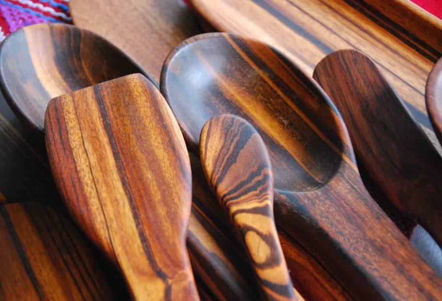 Cucharas de madera main