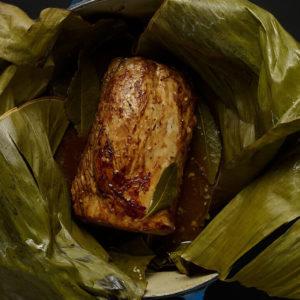 Pati Jinich lomo de cerdo con salsa dulce de cítricos