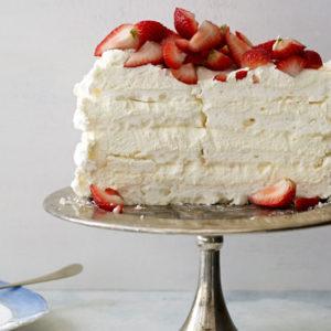 Pati Jinich pastel de merengue
