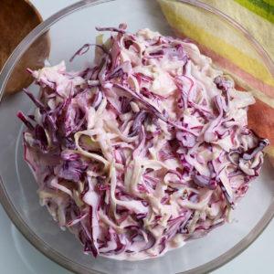 Pati Jinich ensalada cremosita de col