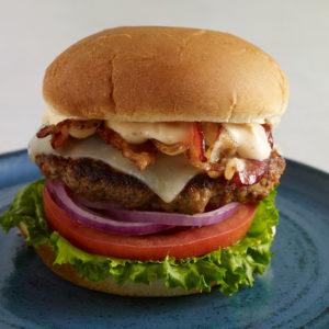 hamburguesa con chorizo del chef rod