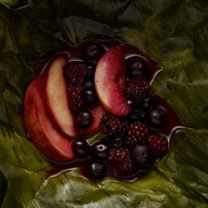 Pati Jinich mixiote de frutas