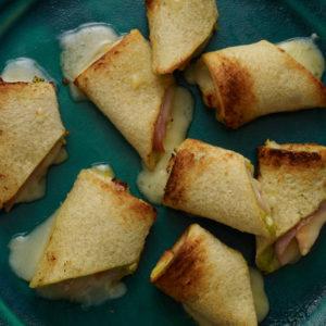 Pati Jinich rollitos de sándwich