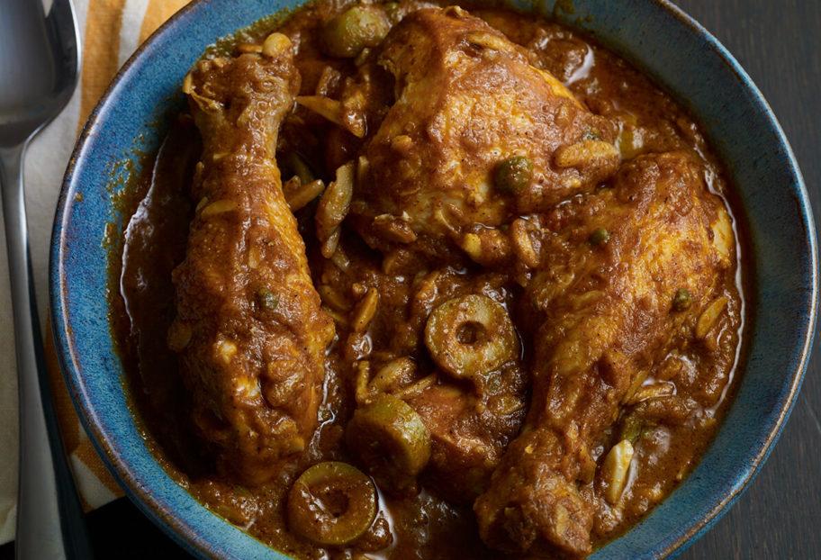 Pati Jinich almendrado con pollo
