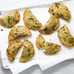 Pati Jinich empanadas de chaya