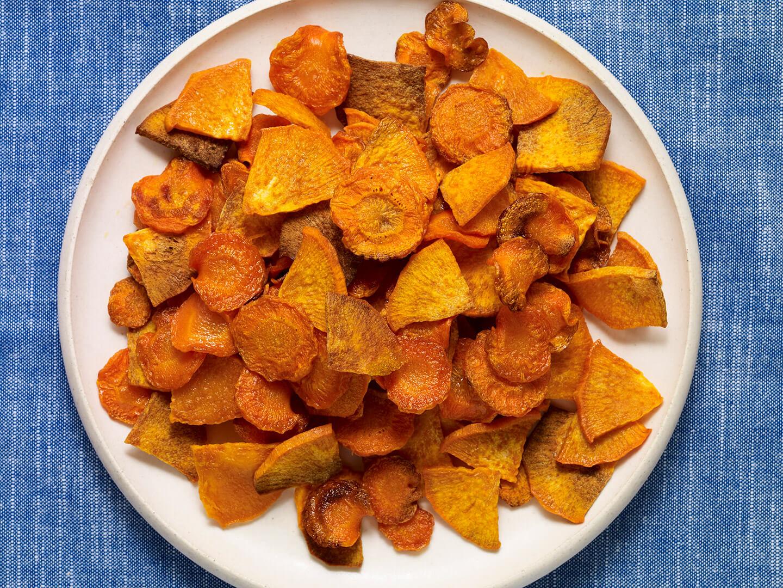 Pati Jinich doraditos de camote y zanahoria