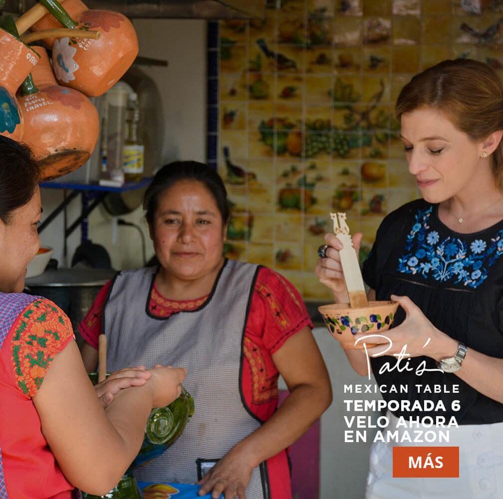 pati's mexican table en amazon video y amazon prime