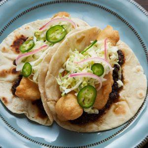 Tacos de pescado Cali-Baja