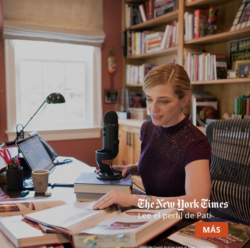 Lee El perfil de Pati en el New York Times