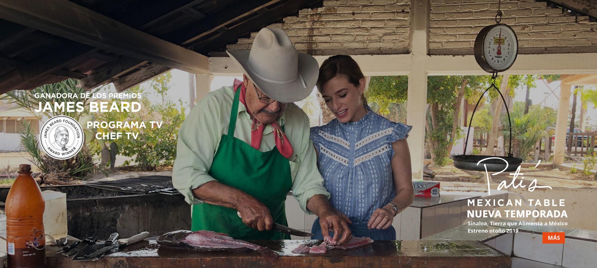 Pati's Mexican Table Programa de TV