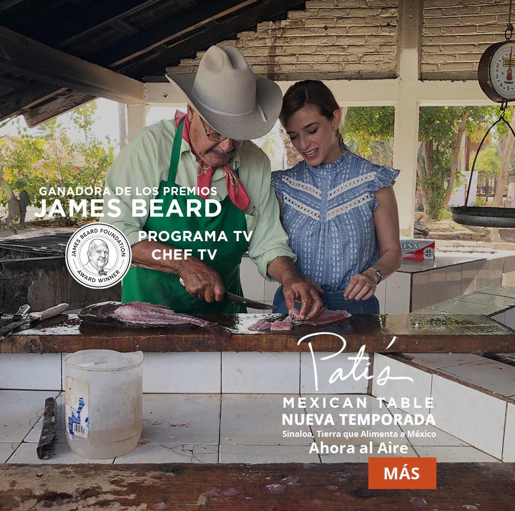 pati's mexican table programa