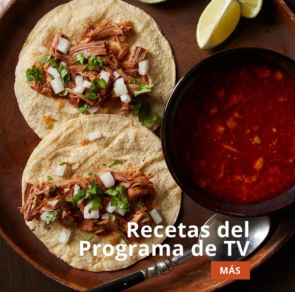 pati's mexican table recetas de programa