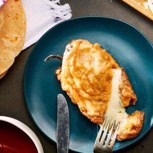 chile relleno de queso