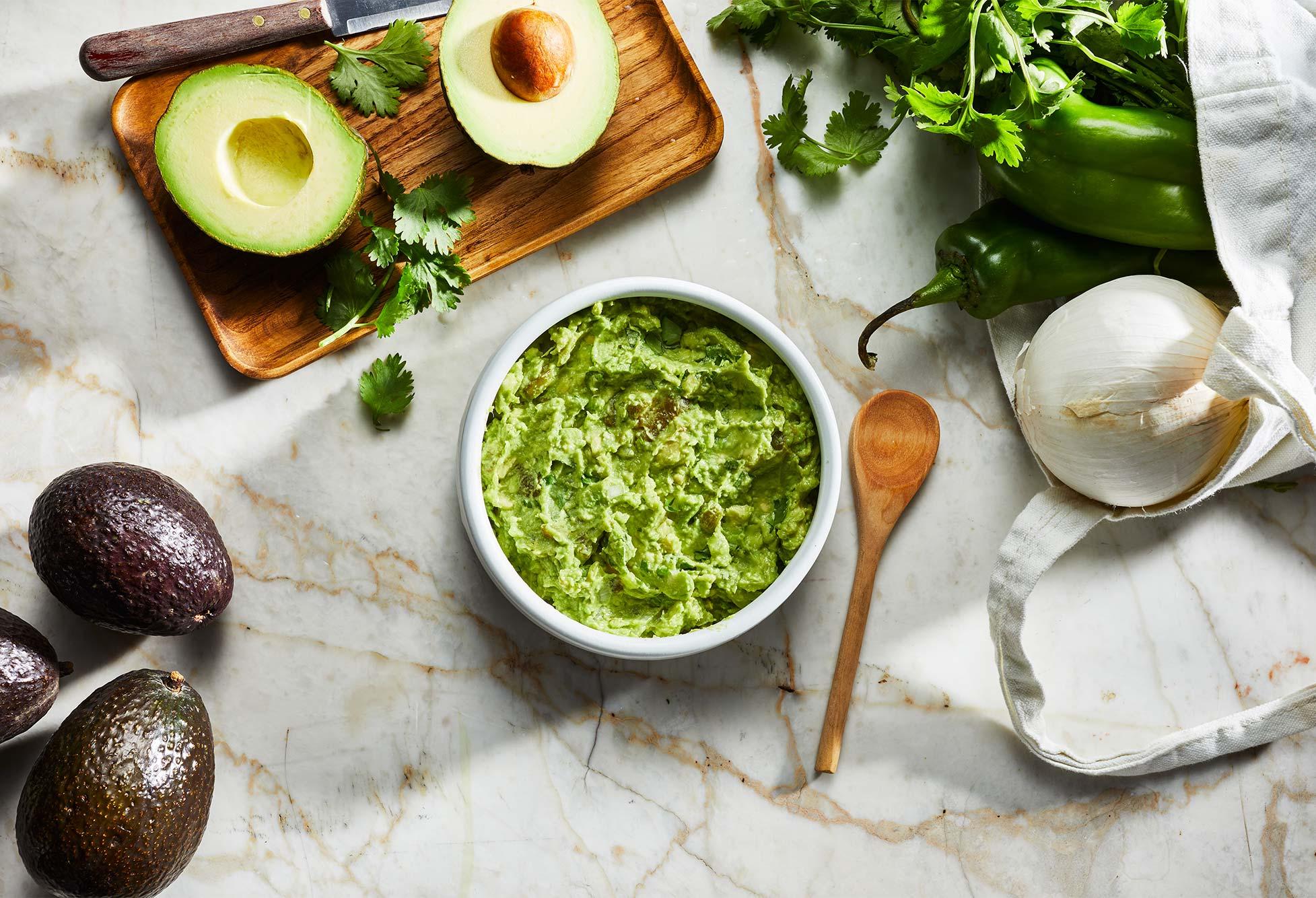 gucamole de chile verde