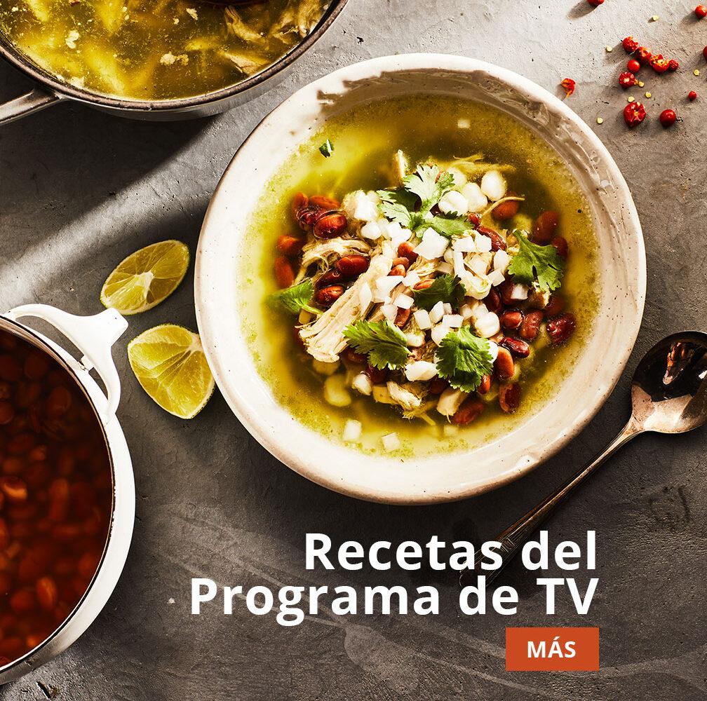 recetas del programa de TV