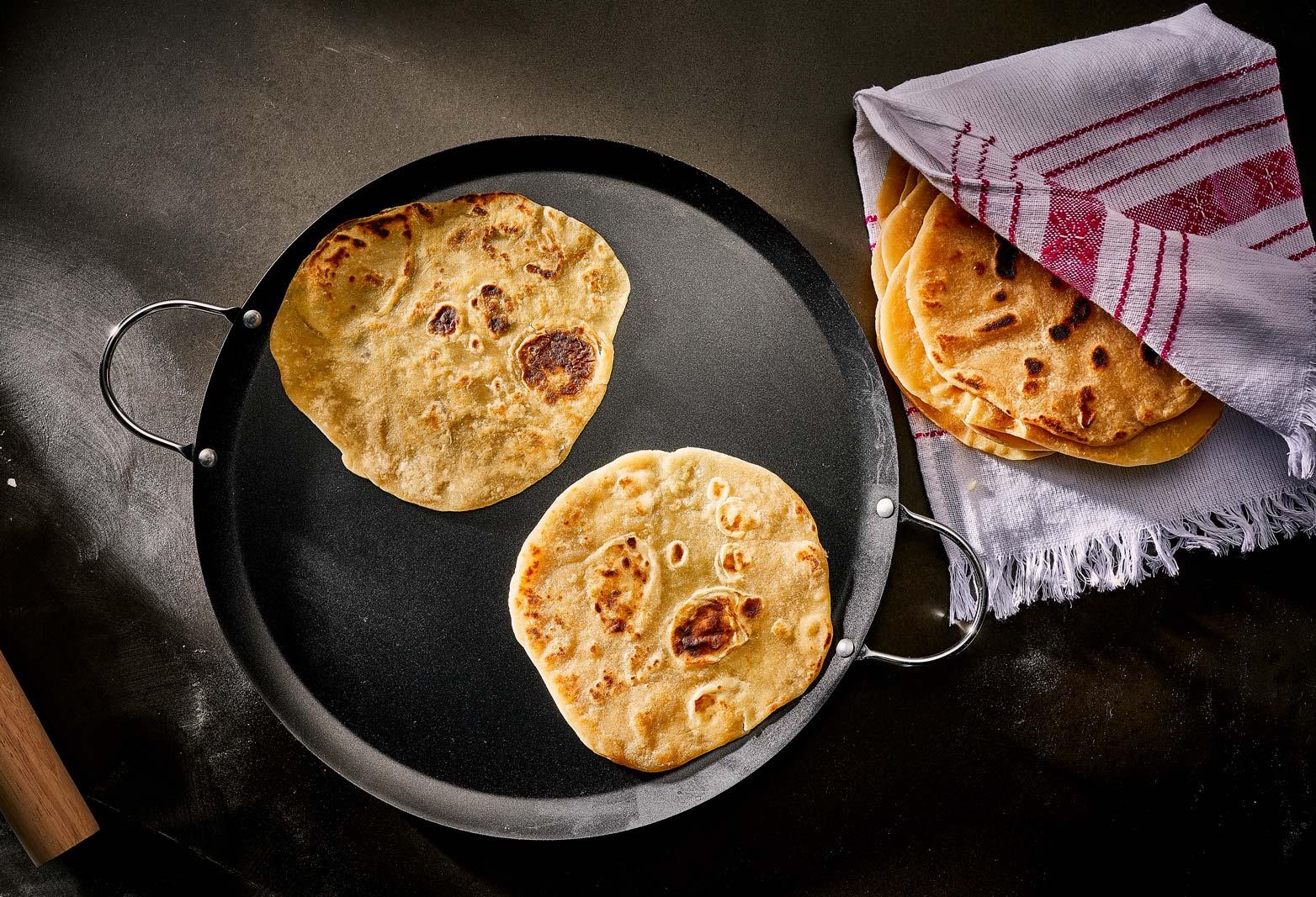 tortillas de harina gorditas