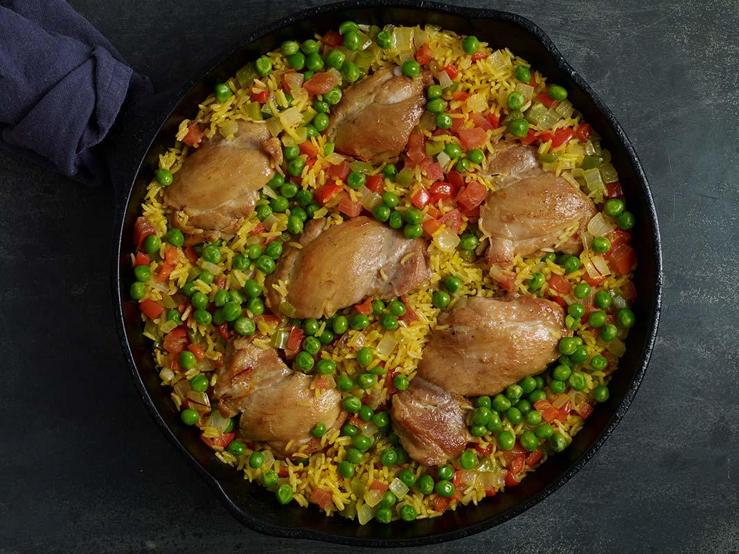 drunken rice chicken pati jinich