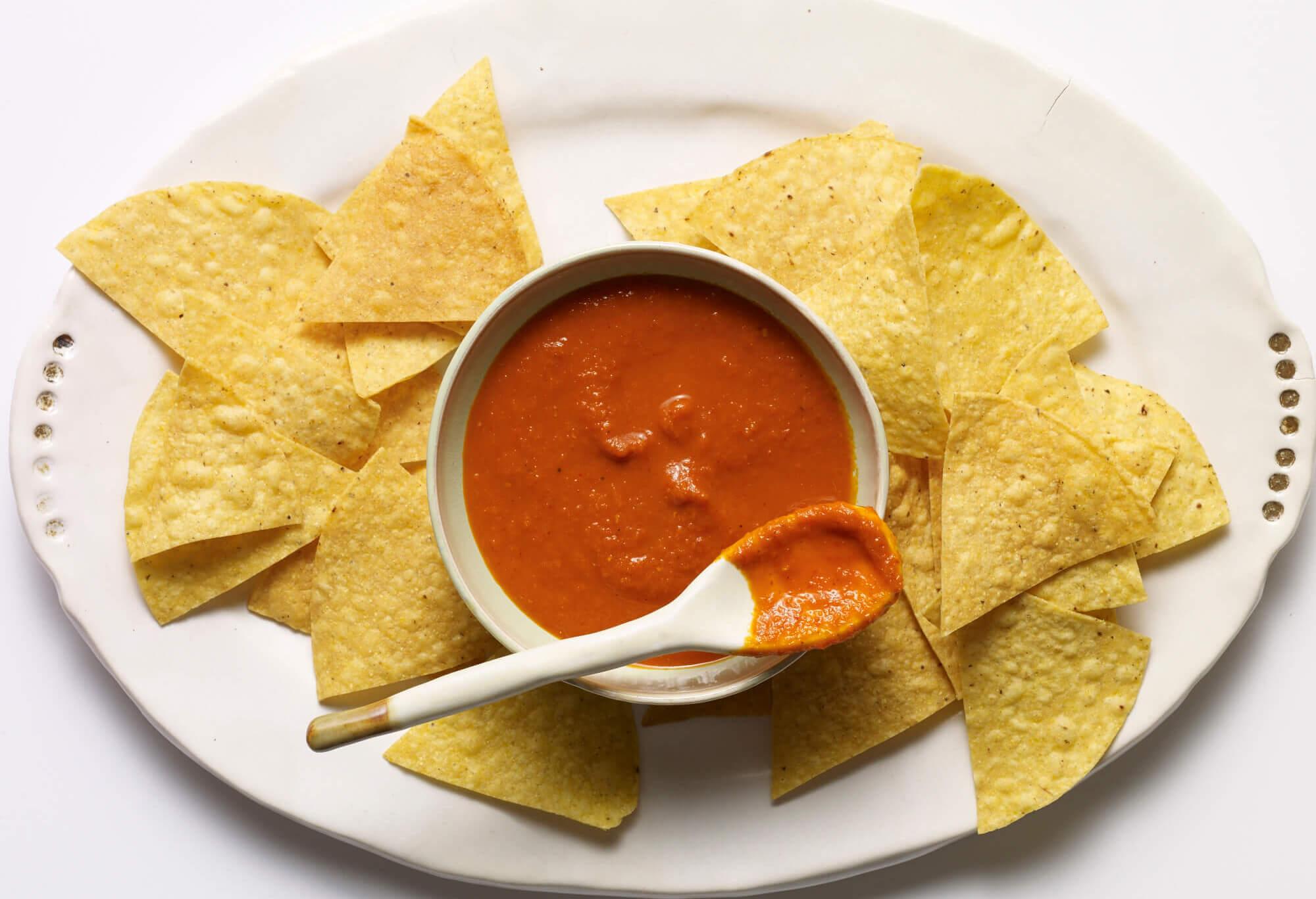 pati jinich guajillo chile salsa from pati's mexican table