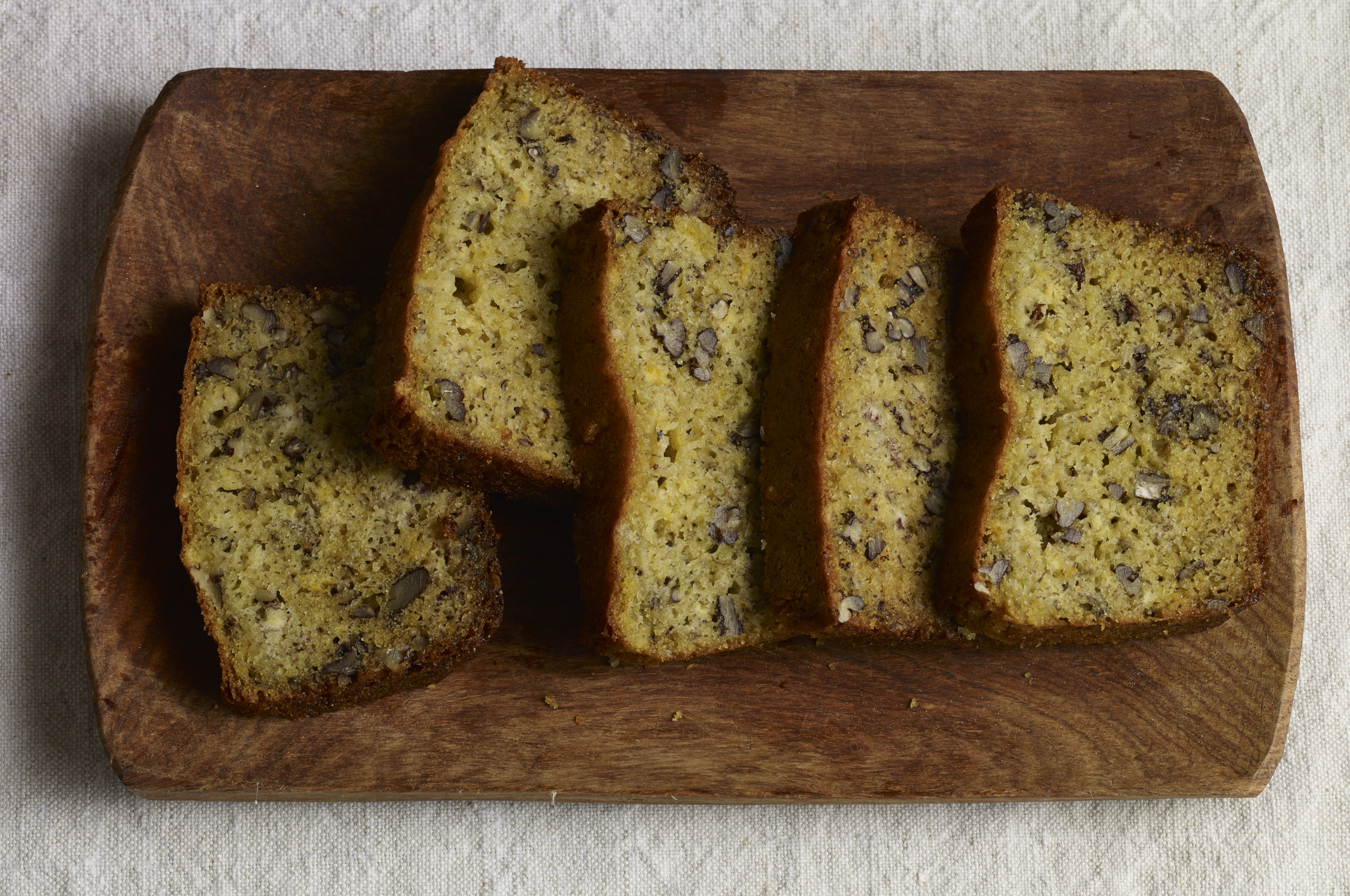 fluffy plantain bread