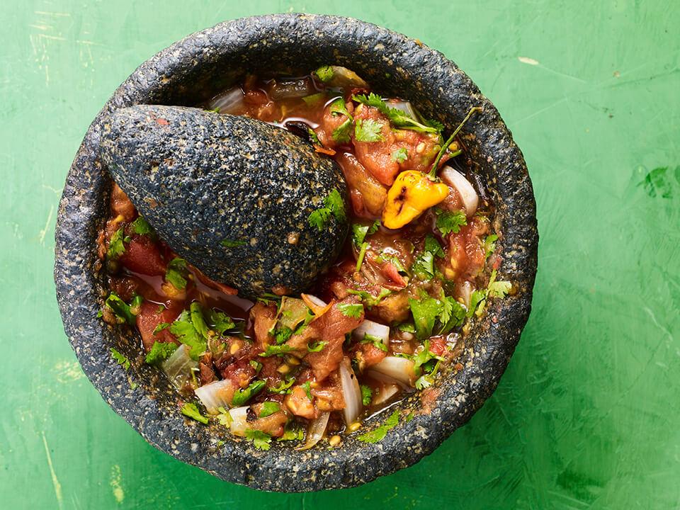 basic yucatecan tomato sauce