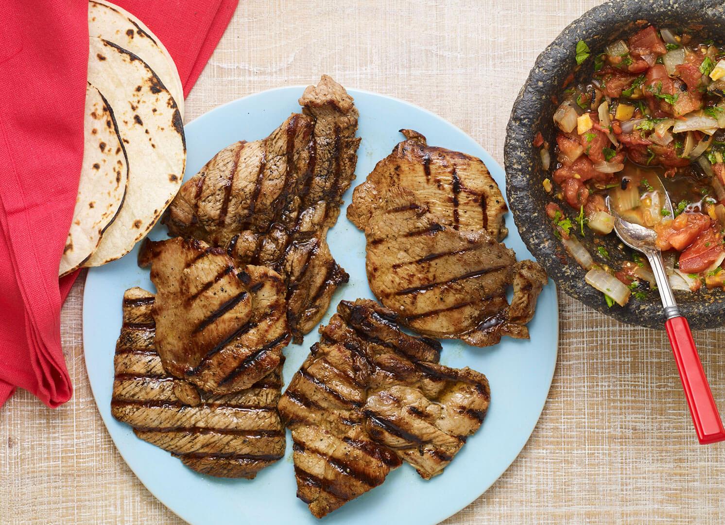 yucatecan grilled pork or pok chuk recipe