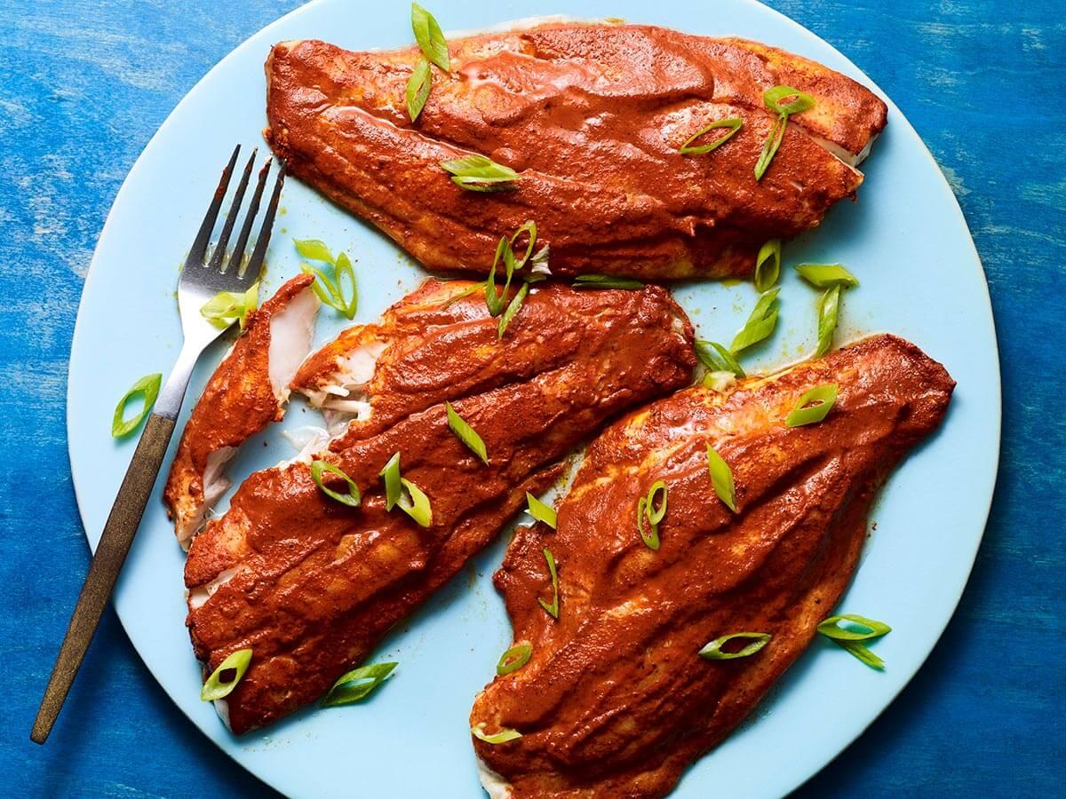 Tikin Xic or Achiote Rubbed Fish recipe