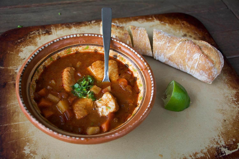 Caldo de Oso or Bear Soup recipe by Pati Jinich
