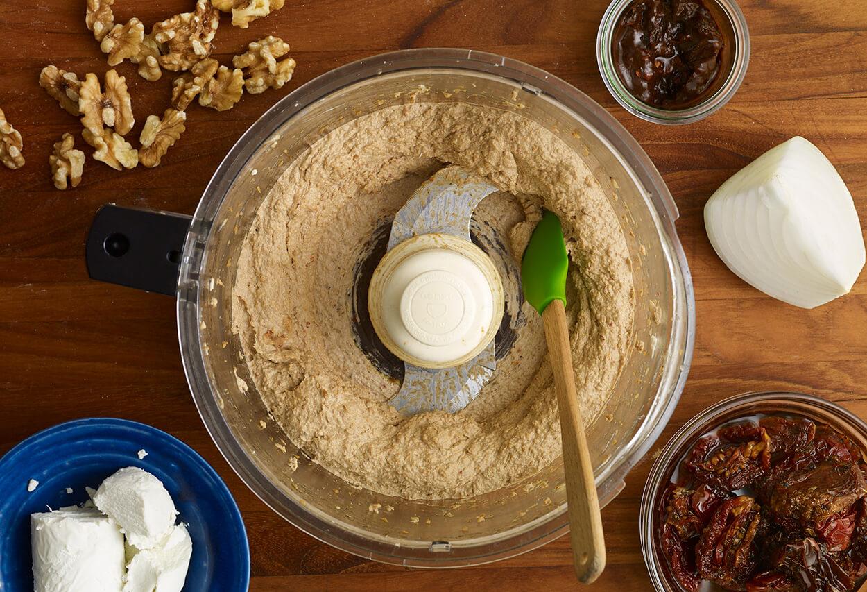 Pati Jinich chipotle goat cheese spread