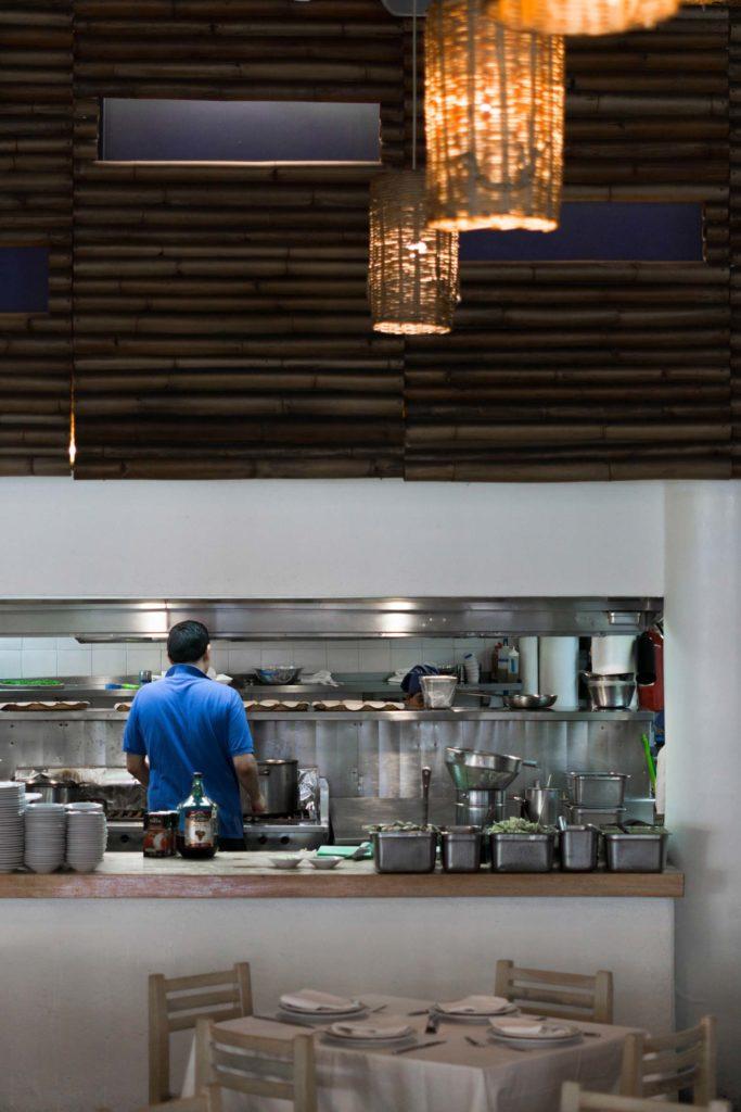 Contramar restaurant in Mexico City