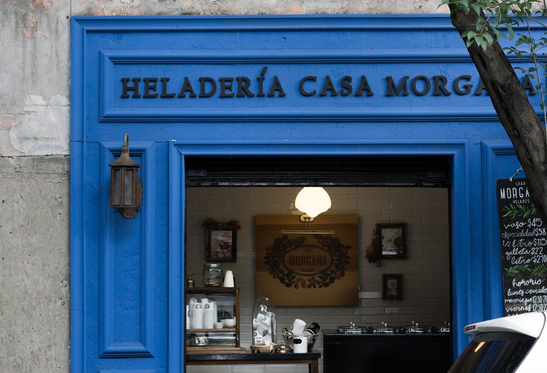 Heladería Casa Morgana