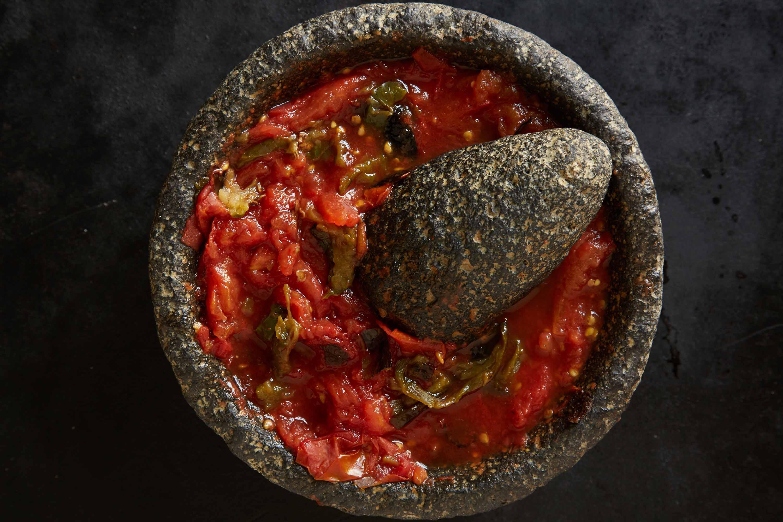Roasted Tomato and Jalapeño Salsita
