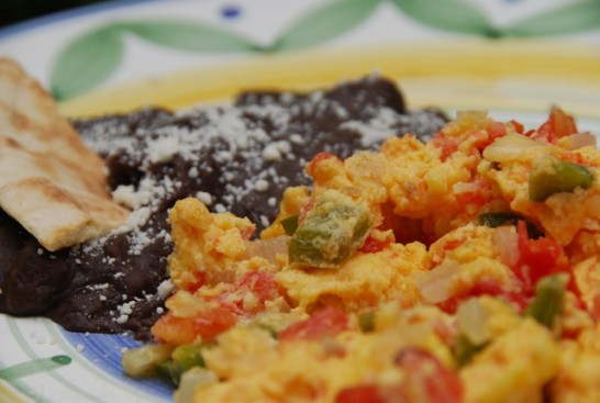 Mexican-style eggs