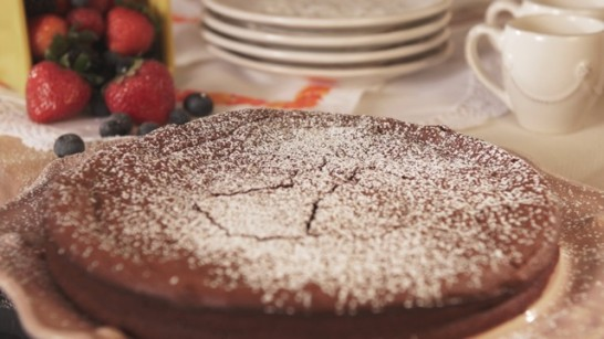 Nana Jose's Flourless Chocolate Cake