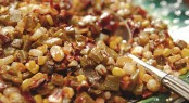 Warm Nopalitos with Sauteed Corn and Guajillo