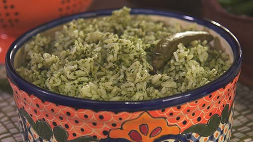 Fresh From the Garden Green Rice