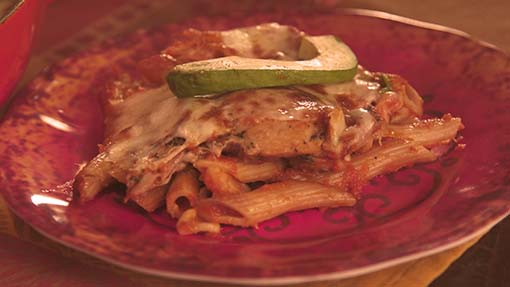 Chipotle Chicken Pasta Casserole