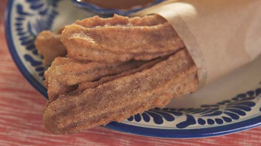 Churros with Cajeta or Dulce de Leche