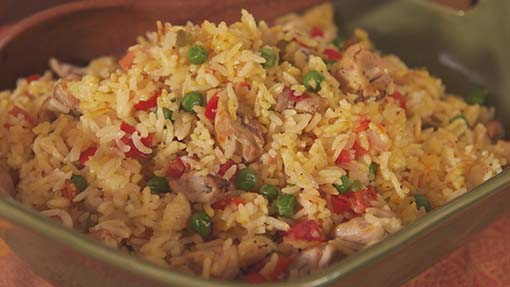 Drunken Rice with Chicken