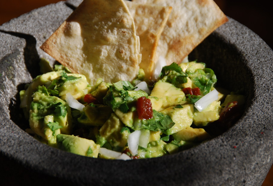 Chipotle Guacamole for any Party (or Disaster)