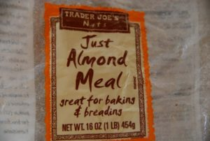 almond meal for Mexican hot chocolate