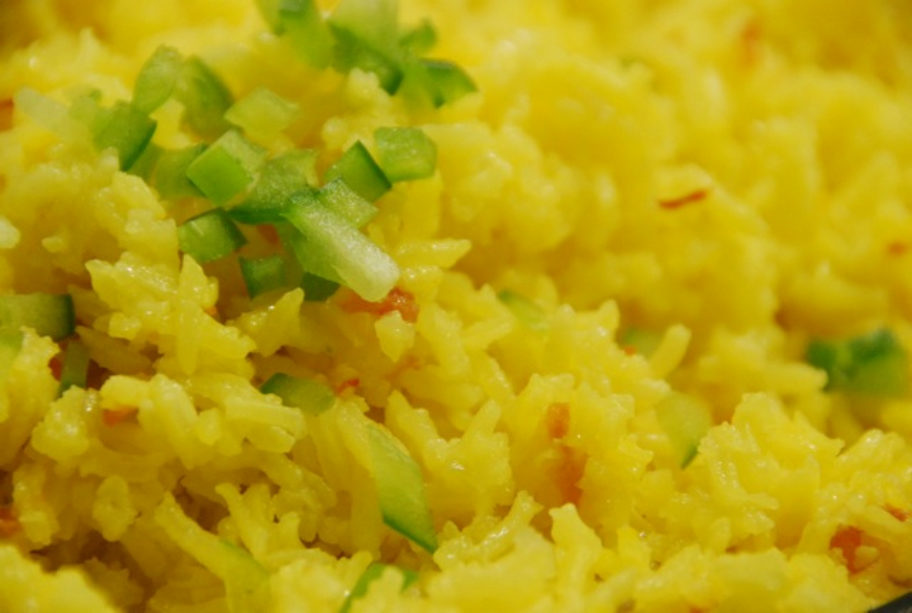 Old World and New World: Yellow Rice
