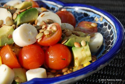 avocado chop chop salad