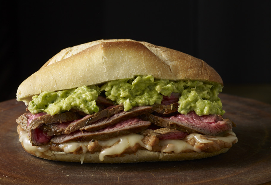 Pepito: Steak & Avocado Sandwich