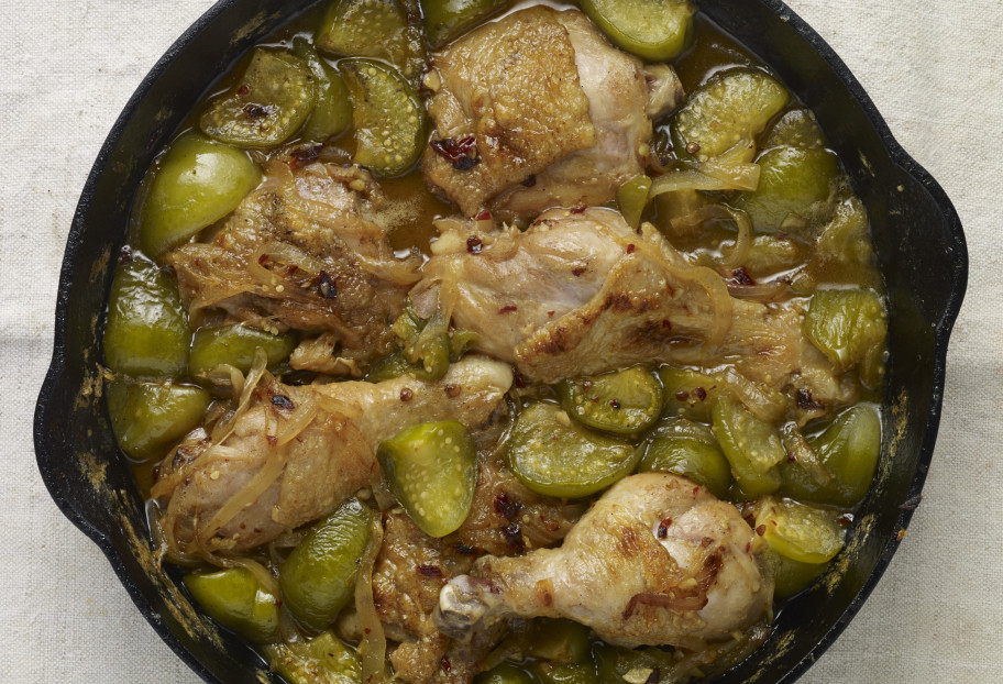 chicken in tomatillo salsa