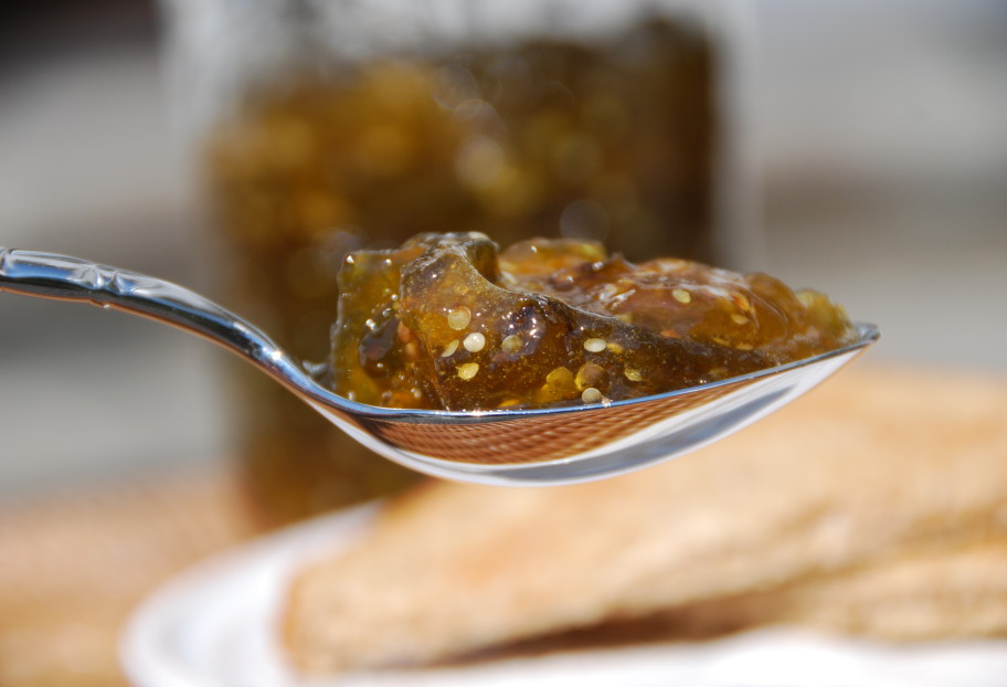 Tomatillo and Lime Jam