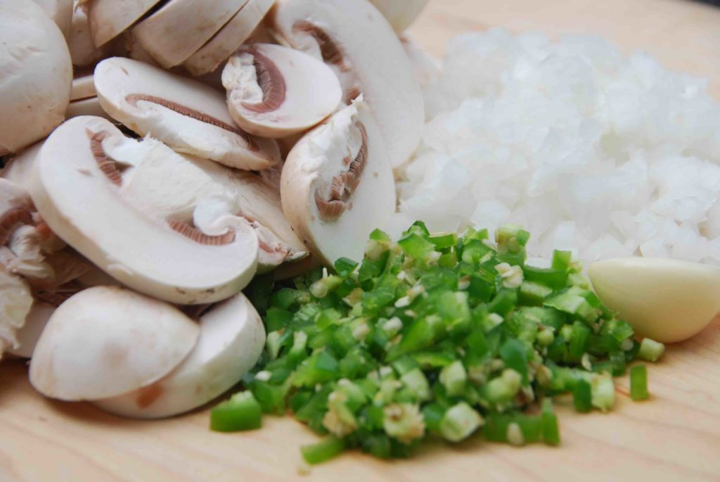 Mushroom-Jalapeño Matzo Ball Soup 1