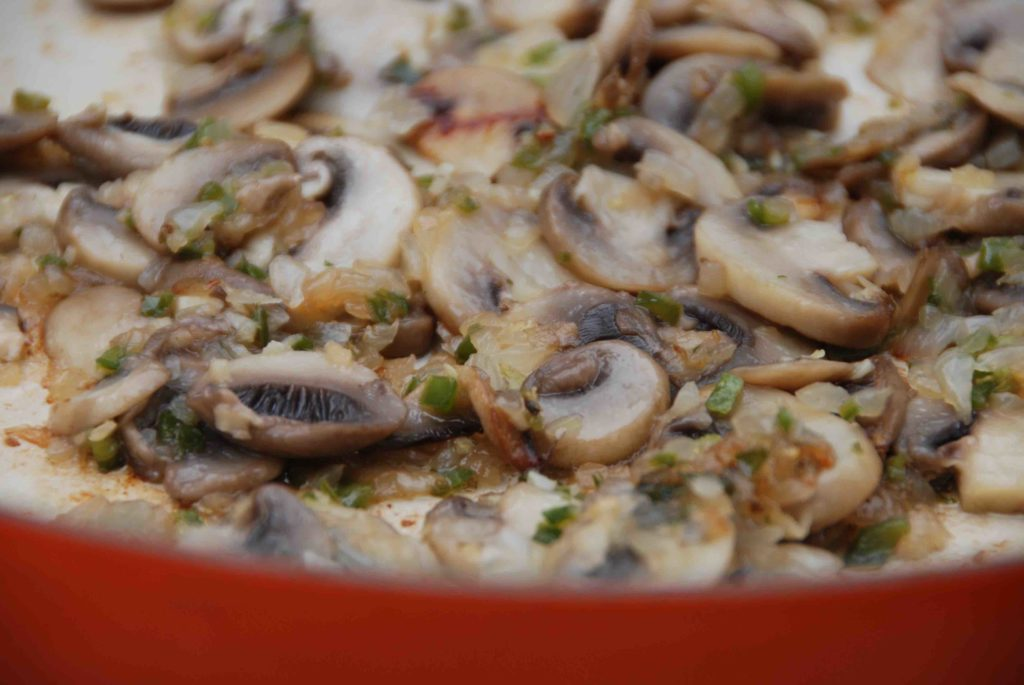 Mushroom-Jalapeño Matzo Ball Soup 2